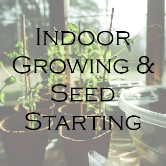 Indoor Growing & Seed Starting
